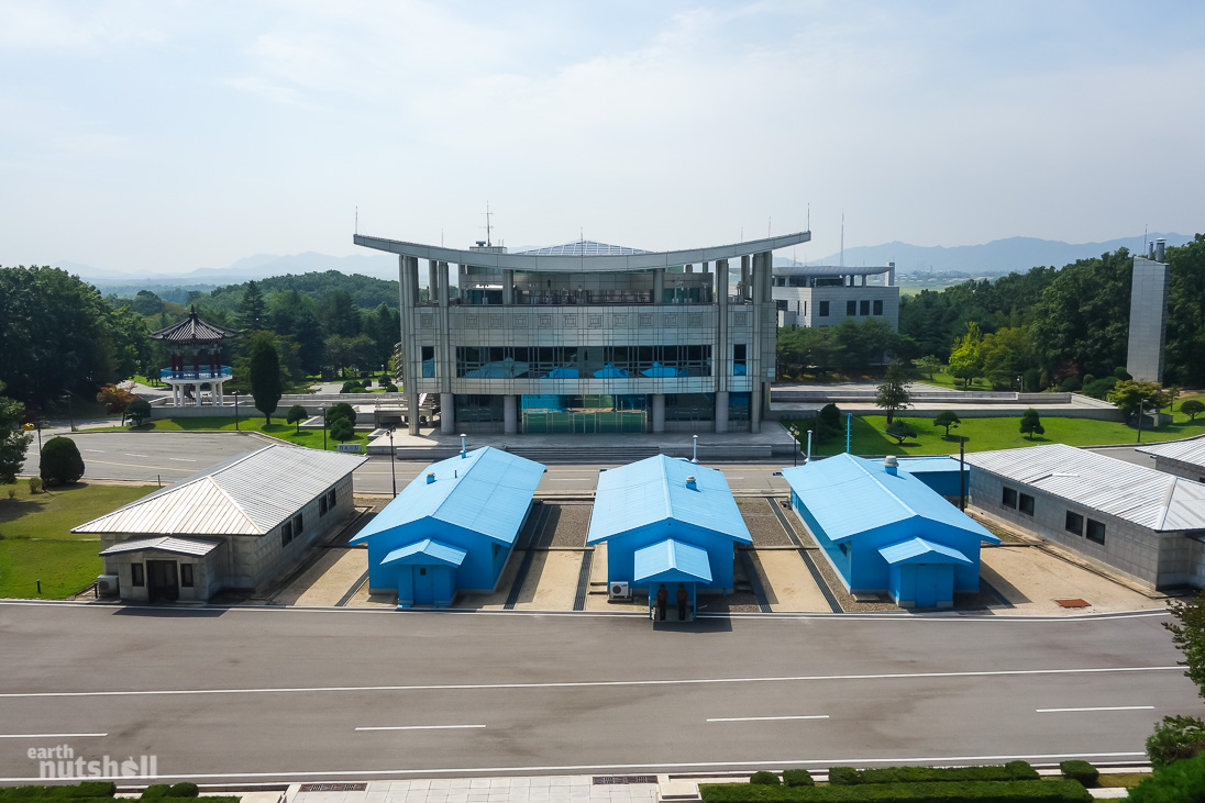 DMZ from North Korea - The World's Most Dangerous Border
