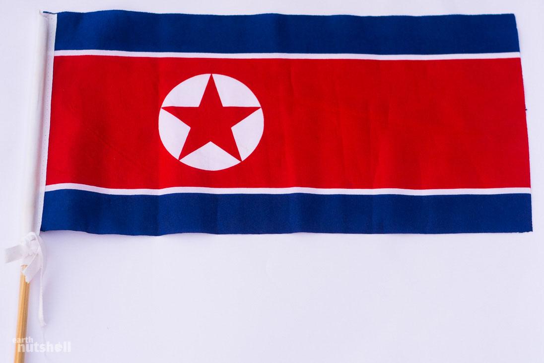 dprk-souvenir-flag