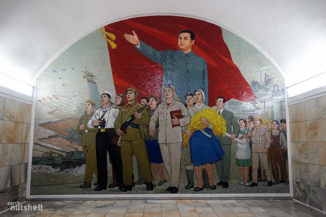 19-pyongyang-metro-kimilsung-mosaic-pulgunbyol