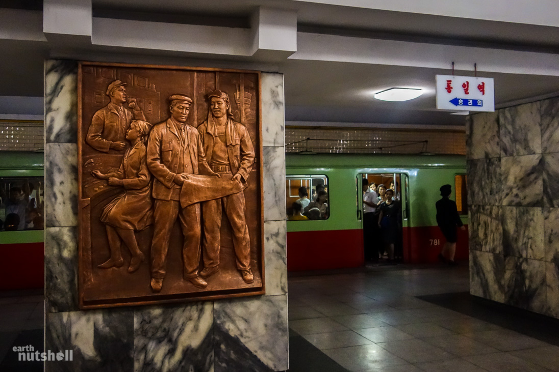 33-pyongyang-metro-bronze-plaque-tongil